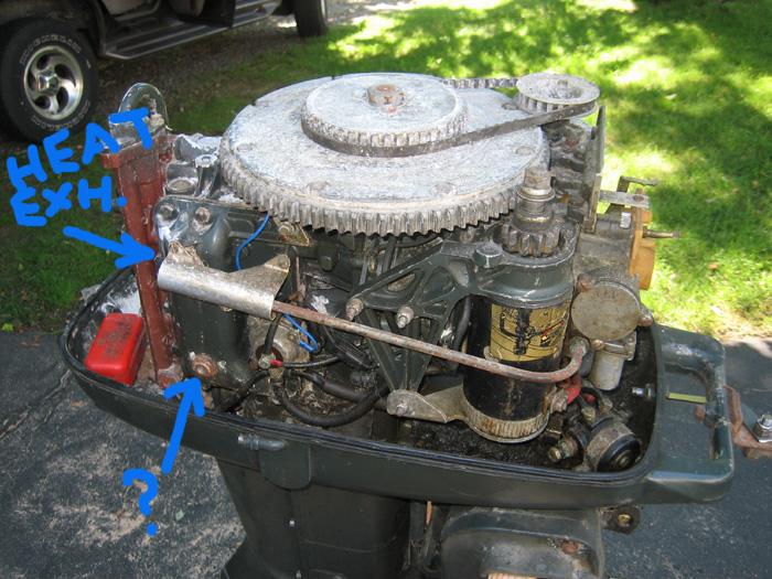 1970 Johnson 40 hp Awakening